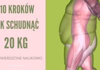 Jak schudnąć 20 kg - 10 kroków potwierdzonych naukowo